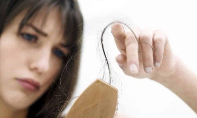 علت ناگهانی ریزش مو